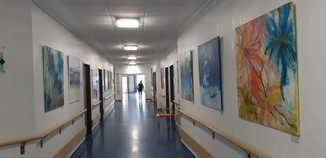 St. Mauritius Therapieklinik Ausstellung Jutta Jung