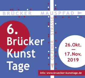 6. Brücker Kunsttage Plakat